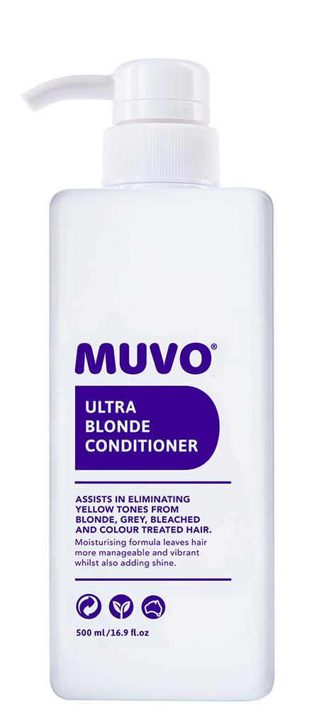 MUVO Ultra Blonde Conditioner 500ml product shot