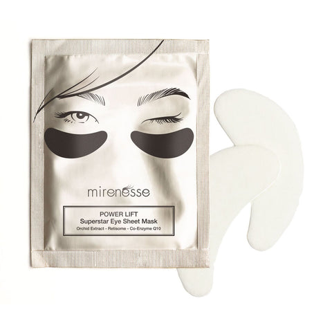 Mirenesse Power Lift Super Star Eye Sheets Mask X 1 Pair