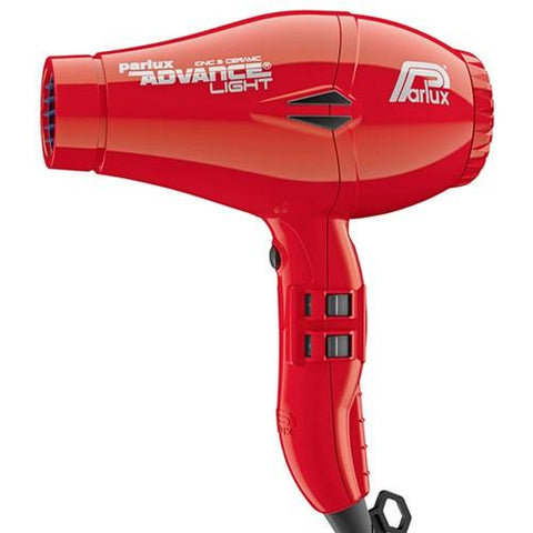 Parlux Advance Light Ceramic and Ionic Hair Dryer - Red