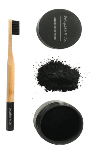 Douglas and Co. Charcoal Powder with Toothbrush