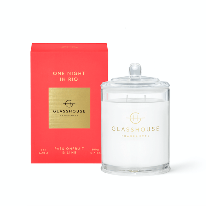 Glasshouse ONE NIGHT IN RIO Candle 380g product shot