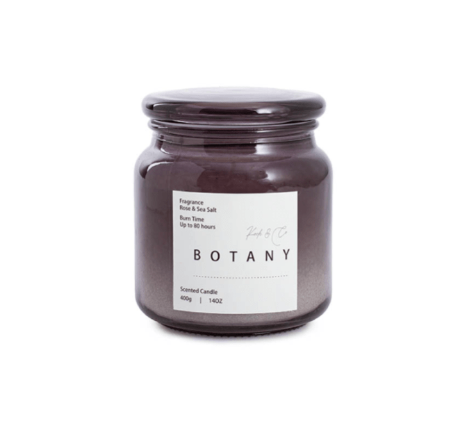 Koch & Co Rose & Sea Salt Scented Candle 400g product shot
