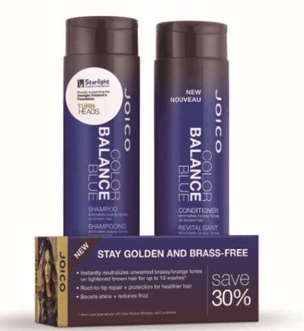 Joico Color Balance Blue Shampoo and Conditioner Duo Pack