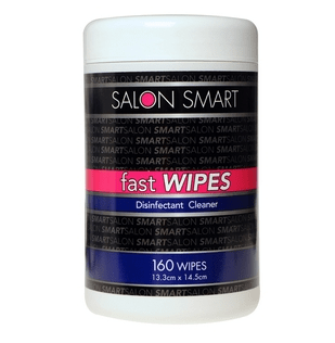 Salon Smart Fast Wipes Disinfectant cleaner. 160pk - 15.99