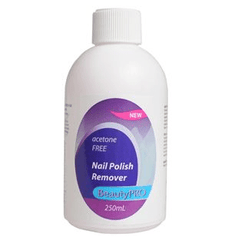 BeautyPRO Acetone Free Nail Polish Remover 250 mL