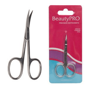BeautyPRO Curved Nail & Cuticle Scissors product shot
