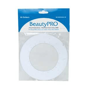 BeautyPRO Professional Protective Collars - 10 Pk - 6.5