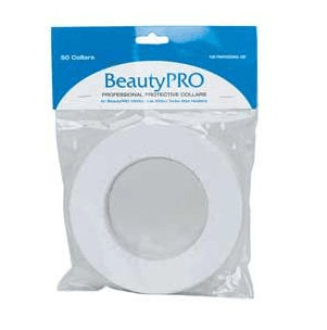BeautyPRO Professional Protective Collars - 50 Pk - 16.5