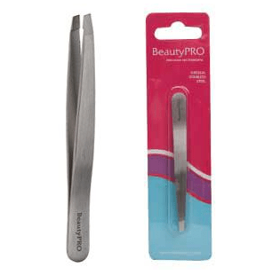 BeautyPRO Slant Tweezer - 5.5