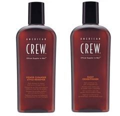 American Crew Power Cleanser Style Remover and Daily Conditioner Duo