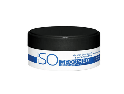 Salon Only Groomed Strong Matt Paste 100g