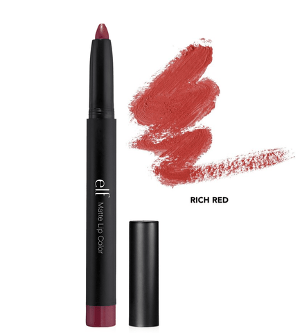 elf Matte Lip Color Rich Red 1.4g