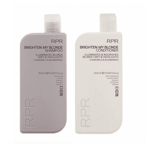 RPR Brighten My Blonde Shampoo and Conditioner 300ml Duo Pack