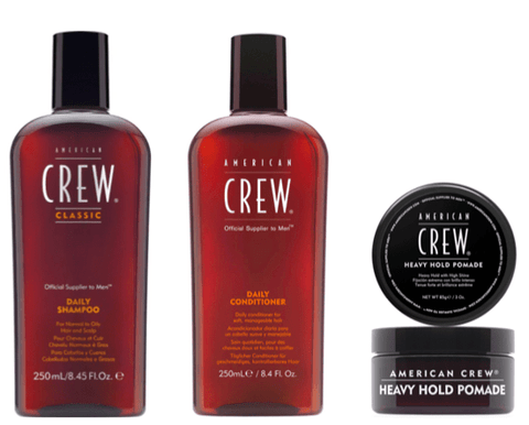 American Crew Heavy Hold Pomade Trio Pack