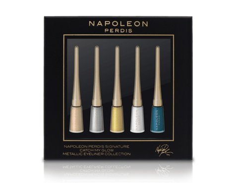 Napoleon Perdis Signature Catch My Glow Metallic Eyeliner Collection