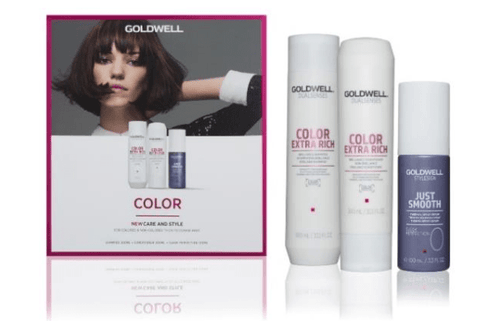 Goldwell Dualsenses Color Extra Rich Shampoo Conditioner Sleek Perfection Pack