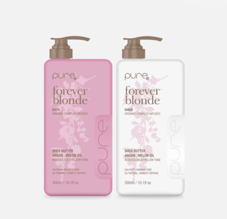 Pure Forever Blonde Bath and Rinse 300ml Duo Pack