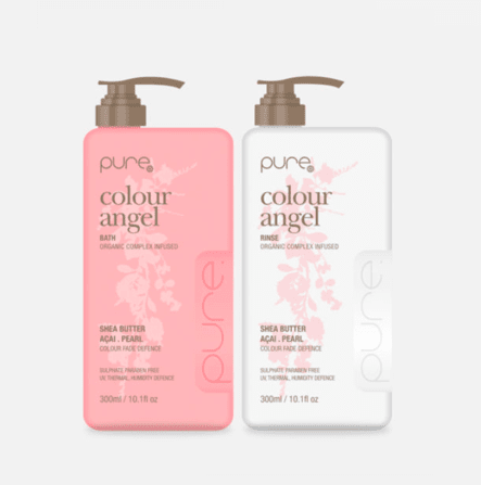 Pure Colour Angel Bath and Rinse 300ml Duo Pack