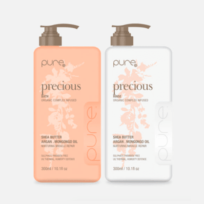 Pure Precious Bath and Rinse 300ml Duo Pack