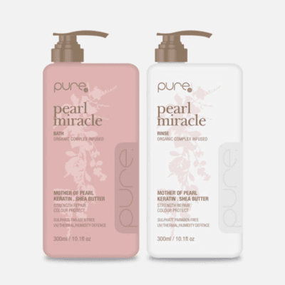 Pure Pearl Miracle Bath and Rinse 300ml Duo Pack