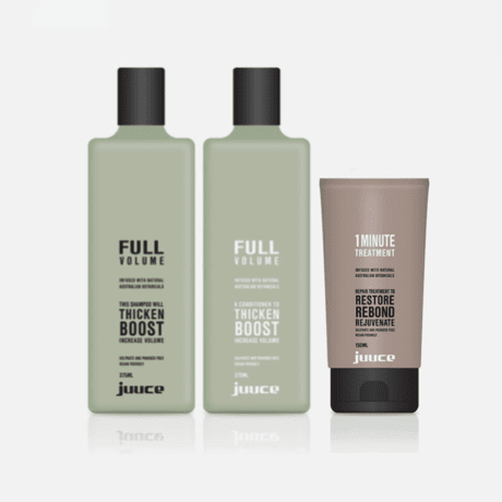 Juuce Full Volume Trio Pack with 1 Minute Treatment