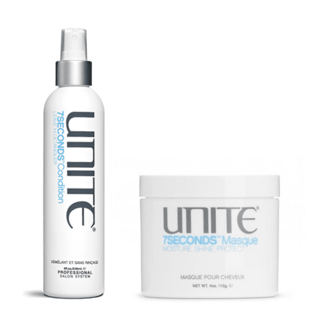 Unite 7 Seconds Leave In Detangler and Masque Duo Pack