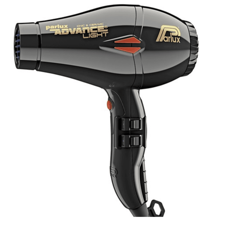 Parlux Advance Light Ceramic and Ionic Hair Dryer - Black
