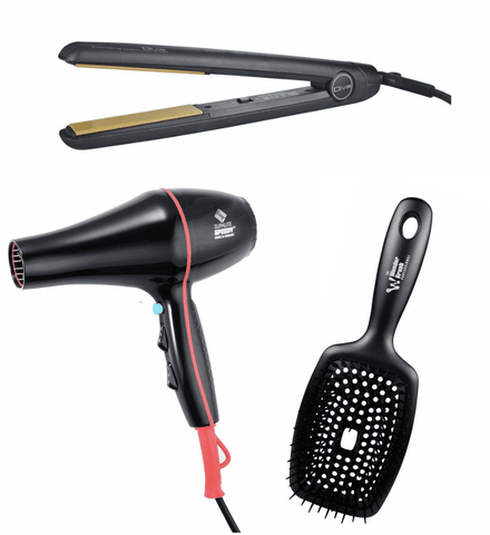 Diva MK11 Trio Pack with Speedy Supalite and Wonder Brush - Black