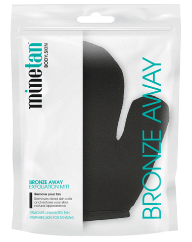 Minetan Bronze Away Exfoliating Mitt