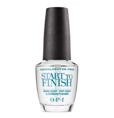 OPI Start to Finish Base and Top Coat - Formaldehyde Free 15ml product shot