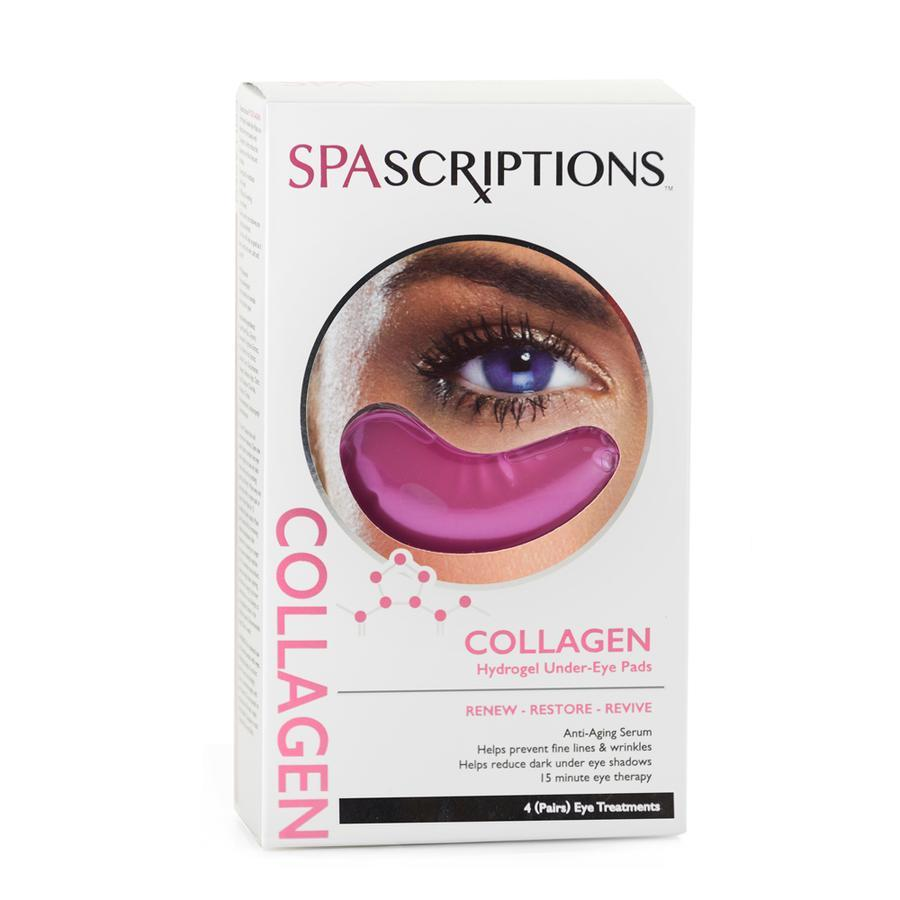 Spascriptions Collagen Hydrogel Under Eye Pads 4 Pairs