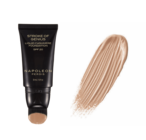 Napoleon Perdis Stroke of Genius Liquid Cashmere Foundation 30ml Look 3 Golden