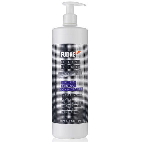 Fudge Clean Blonde Violet Toning Conditioner 1000ml ( Old Packaging )