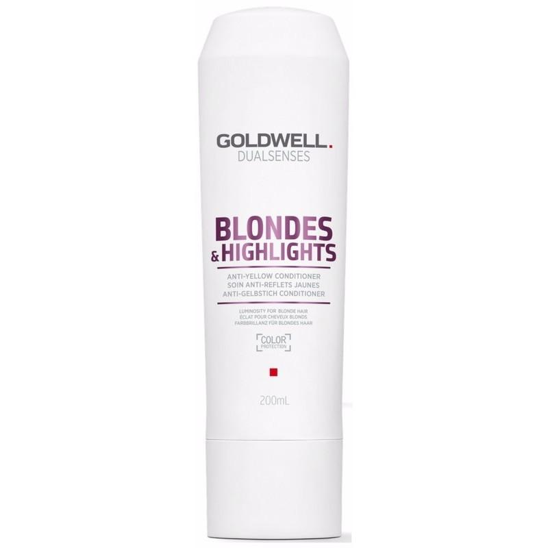 Goldwell Dualsenses Blondes & Highlights Anti-Yellow Conditioner 300ml product shot