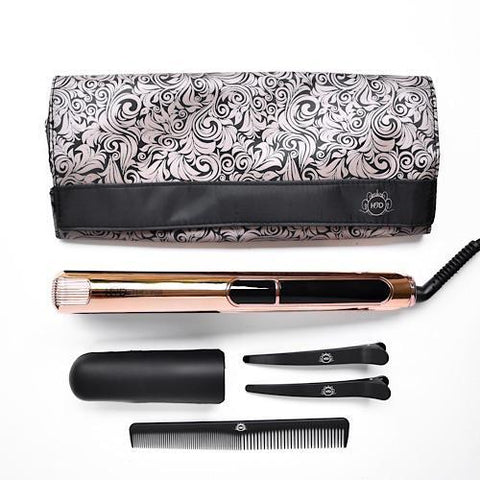 H2D Linear 11 Rose Gold Chrome Hair Straightener