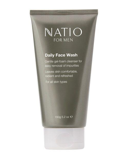 Natio For Men Daily Face Wash 150g product shot