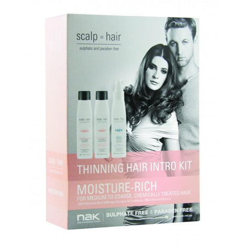 Nak Scalp to Hair Moisture-Rich Thinning Hair Intro Kit - 27.95