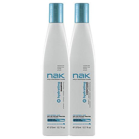 Nak Hydrating Shampoo and Conditioner 375ml Duo Pack - 24.95