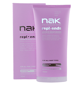 Nak Repl.ends Leave in Moisturiser 150ml - 17.99