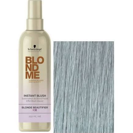 Schwarzkopf BLONDME Instant Blush Temporary Hair Colour- Ice 250ml