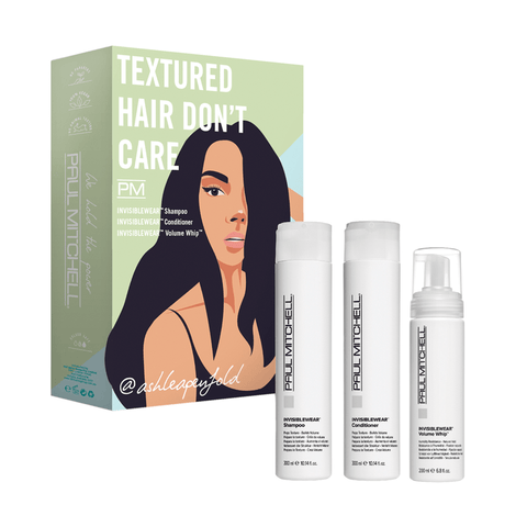 Paul Mitchell Textured Hair Don't Care Trio Pack