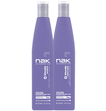Nak Blonde Shampoo and Conditioner 375ml Duo