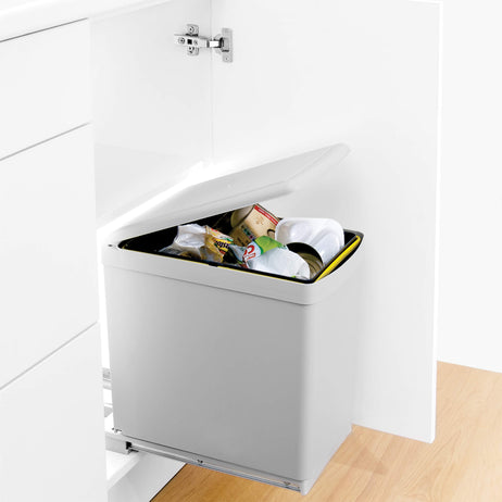 Contract Bin with Automatic Lid 16L