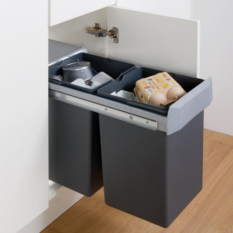 Double Boy Waste Bin 30L (2 x 15L)
