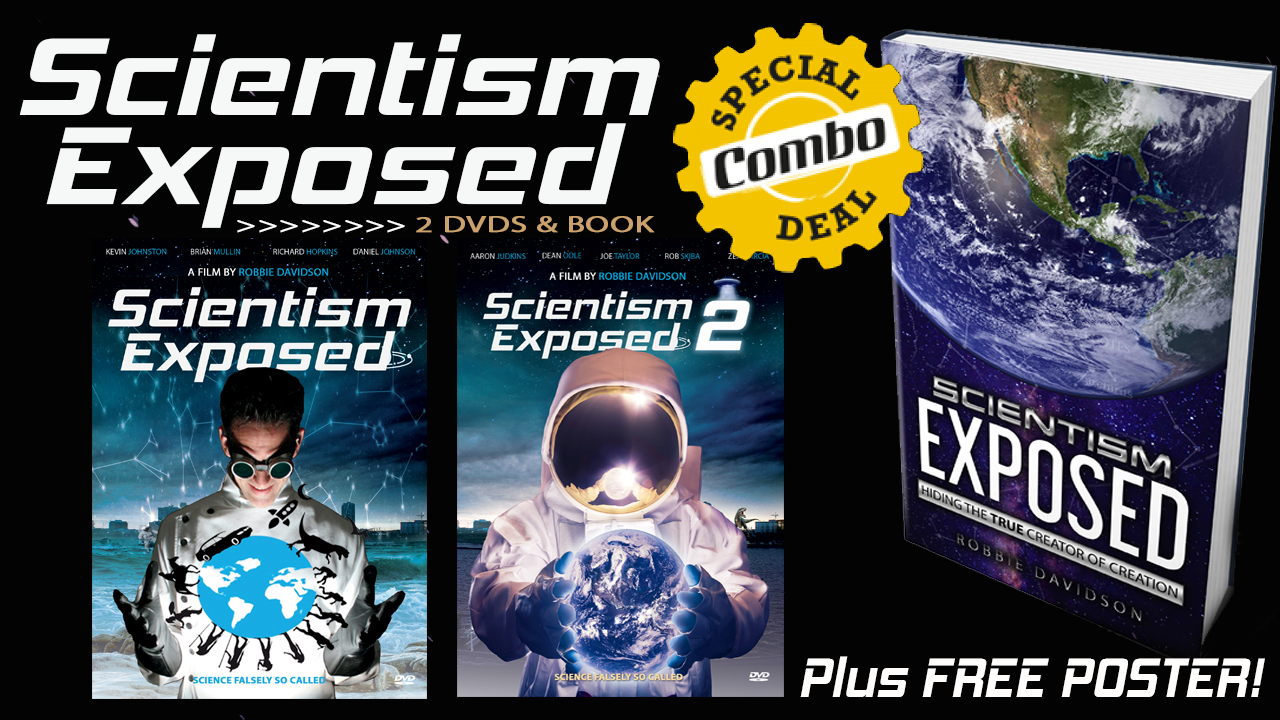 Scientism Exposed DVDs & Book Combo with Free Poster
