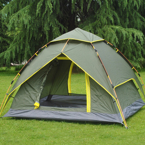 Double Layer 3-4 Person Tent - Gear Lodge