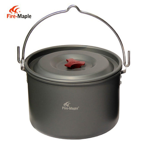 Lightweight Hanging Aluminum Pot - Gear Lodge