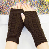 Knitted Fingerless Gloves (Womens) - Gear Lodge