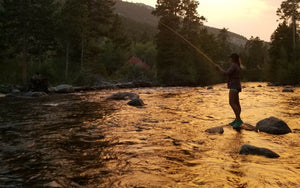 Pirate Fly Fishing sunset
