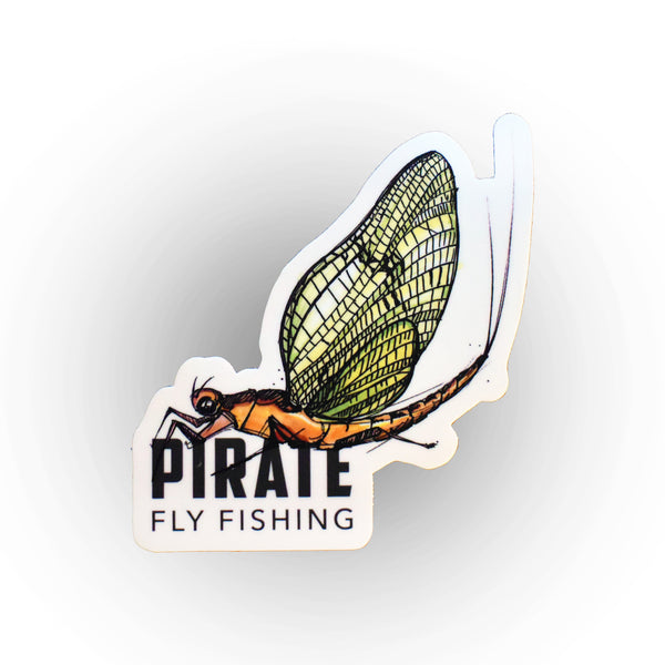 Mayfly x Pirate Sticker